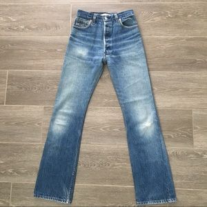 Re/Done Levi's (ultra) High Rise Bootcut Jeans 24